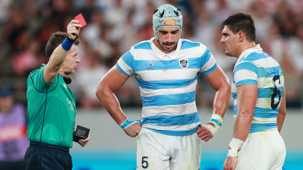 Rugby World Cup 2019: Lavanini handed four-match ban after red card