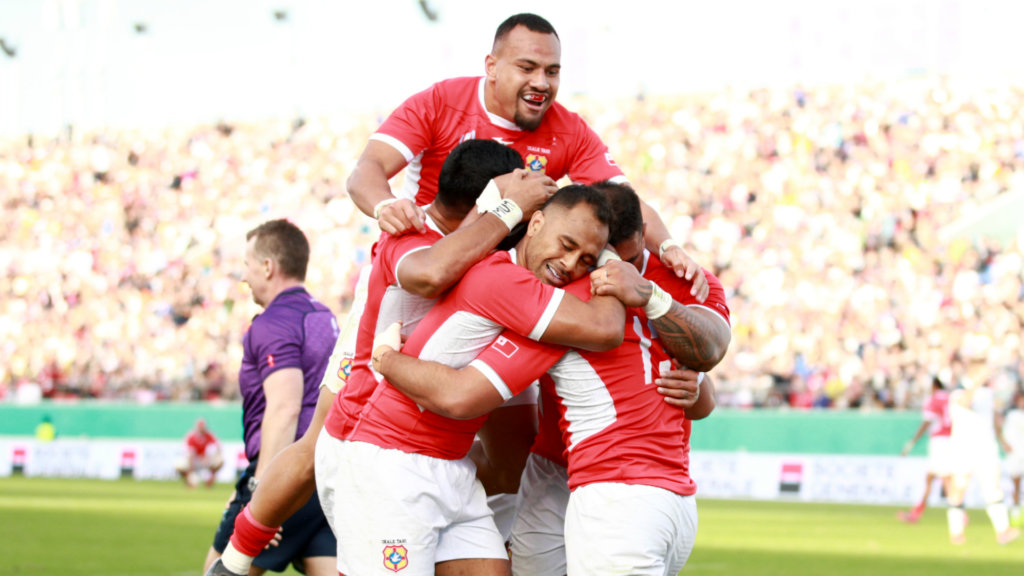 Rugby World Cup 2019: United States 19-31 Tonga