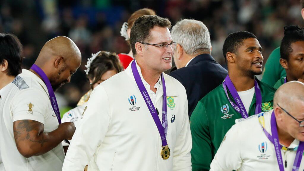 'Hands off Rassie', says SA Rugby boss Alexander