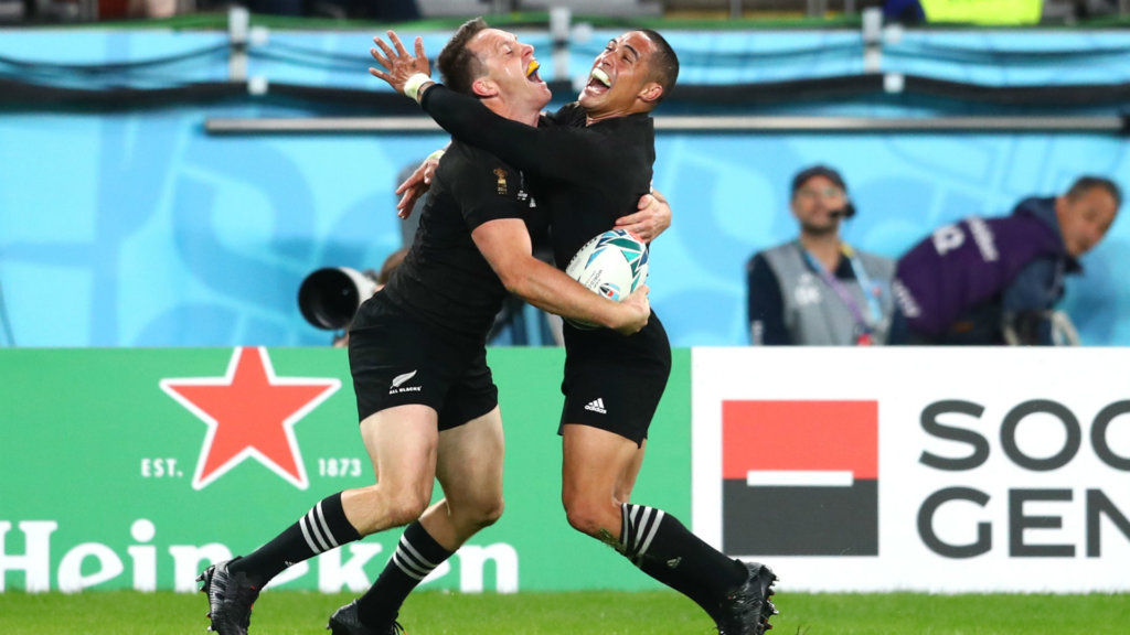 Rugby World Cup 2019: New Zealand 40-17 Wales