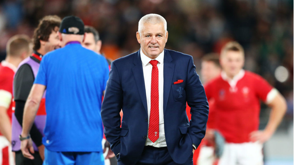 Wales honour Gatland with 'Gatland's Gate' at Principality Stadium