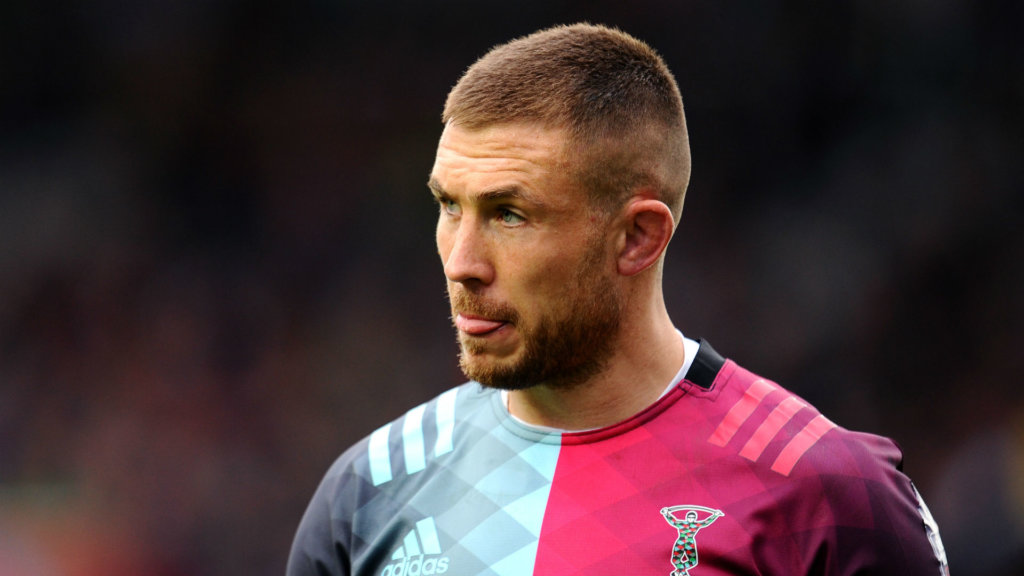 Harlequins' Mike Brown out for the season due to knee injury
