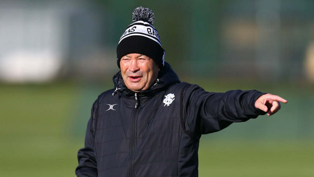 England head coach Jones shrugs off NRL link