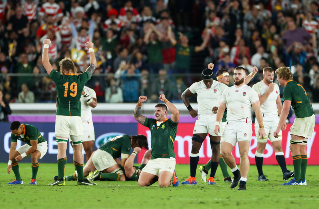 Rugby World Cup 2019: South Africa make history by doing the double