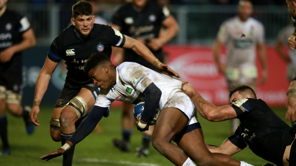 Ezeala double helps Clermont sink Bath