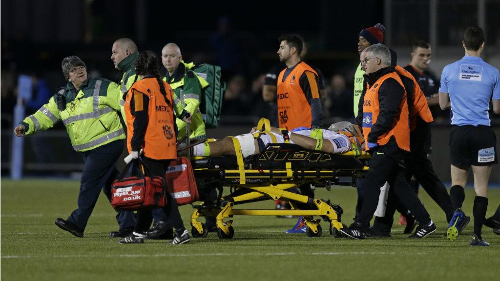 Injured Worcester lock Fatialofa remains in London hospital