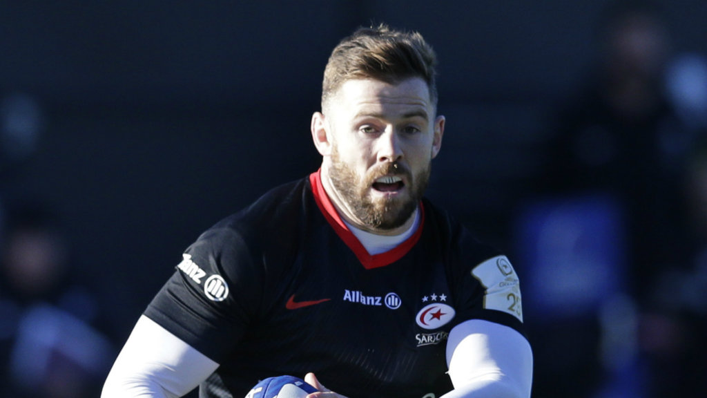 Elliot Daly follows England team-mate Jamie George in committing to Saracens
