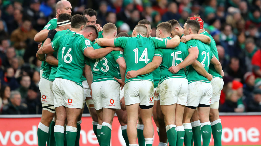 Ireland 'in a great place' ahead of England clash, says Farrell