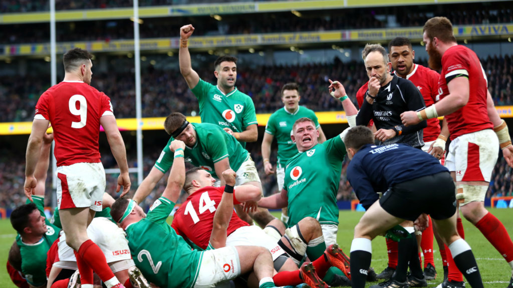 Ireland whip up Dublin storm to deny Wales record-equalling win
