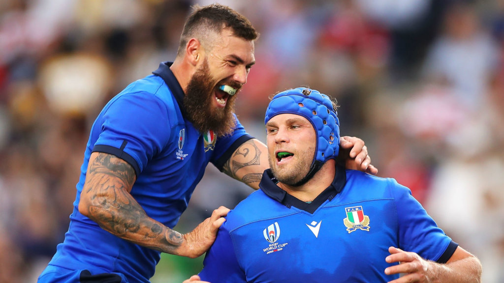 France and Italy both make one change for Paris clash