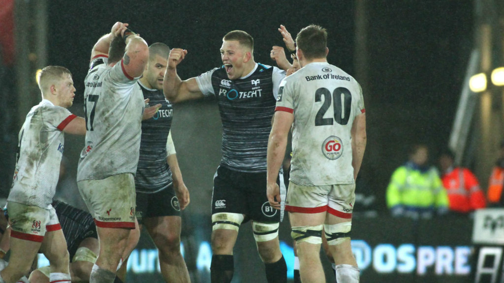 Ulster pay the Price in stormy Swansea, Leinster juggernaut rolls on