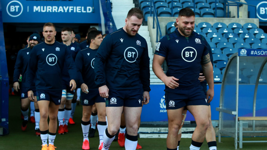 Hogg has no interest in war of words ahead of Calcutta Cup clash