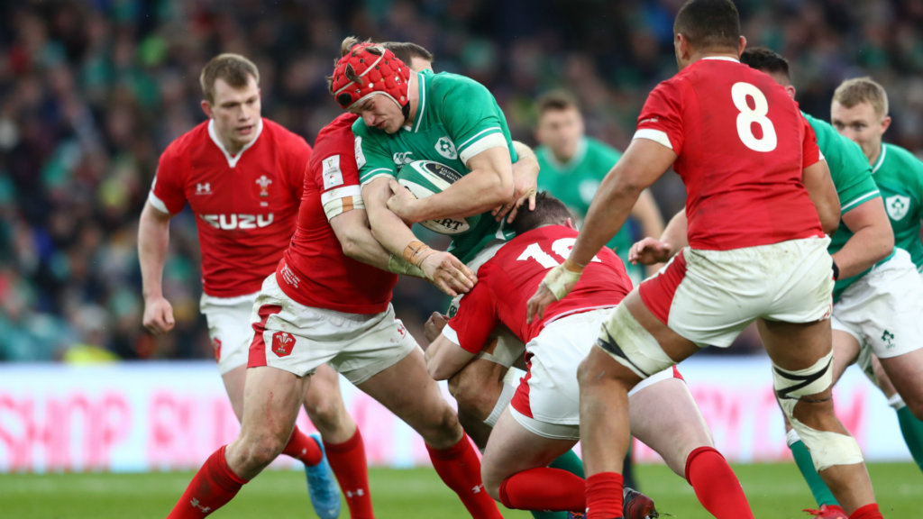 Ireland controlled the game against Wales, says Van der Flier