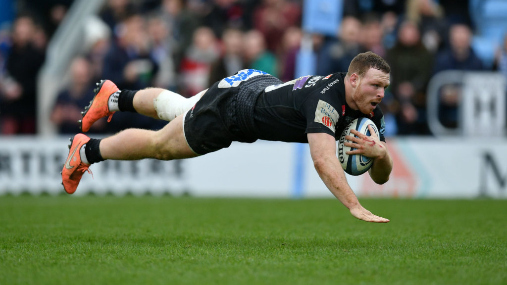 Exeter top after scoring eight tries to thrash Bath, Gloucester lose again