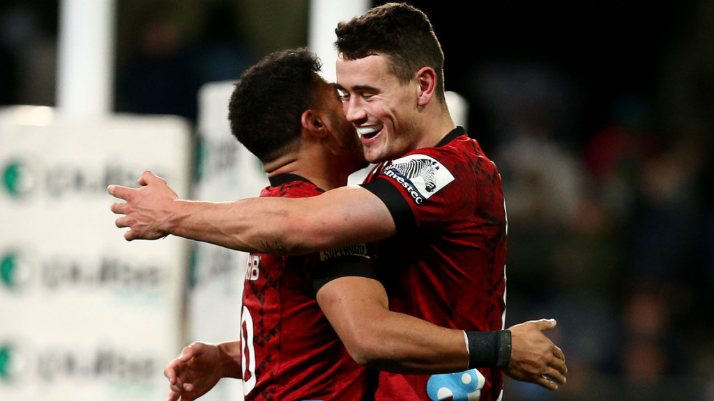In-form Jordan helps Crusaders down Highlanders