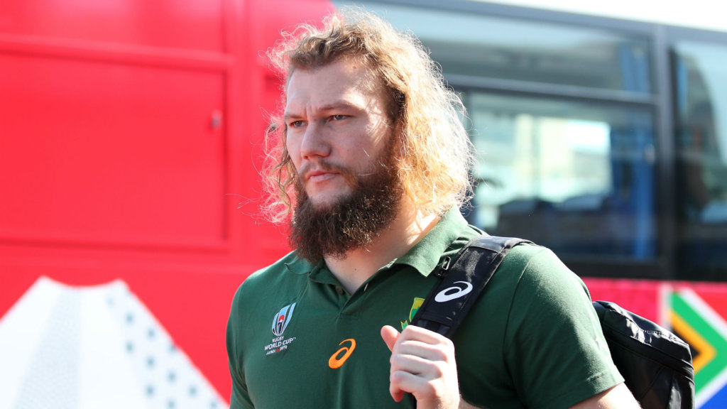 South Africa and Munster lock RG Snyman suffers torn ACL