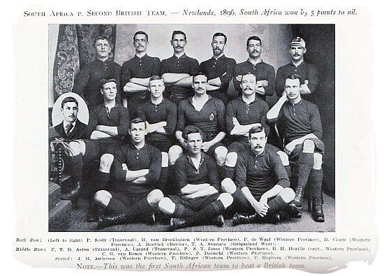 Remembering SA's provincial pioneers who beat the British & Irish Lions in 1903
