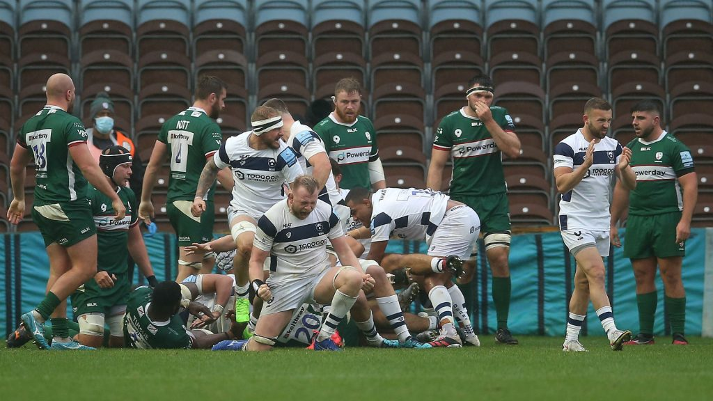 Bristol secure play-off place, anxious wait for Bath after Saracens draw