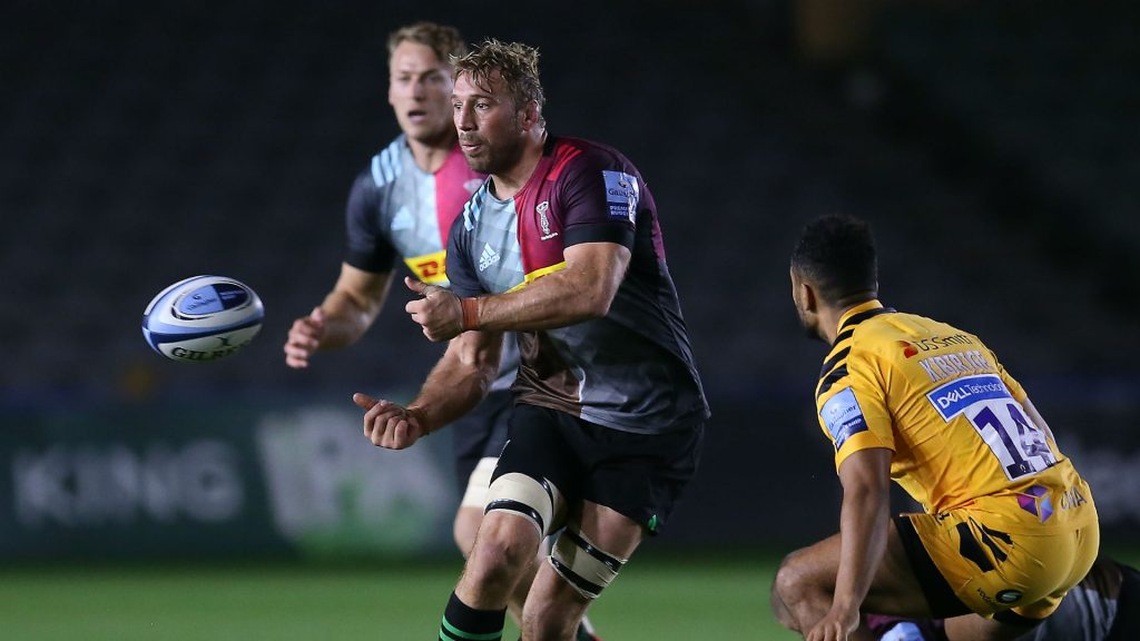 Harlequins 23-32 Wasps: Robshaw's Stoop farewell ends in defeat