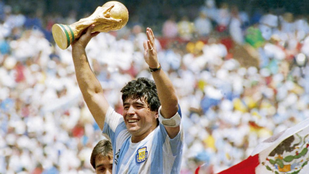 Maradona commanded life, as much as he commanded the soccer pitch