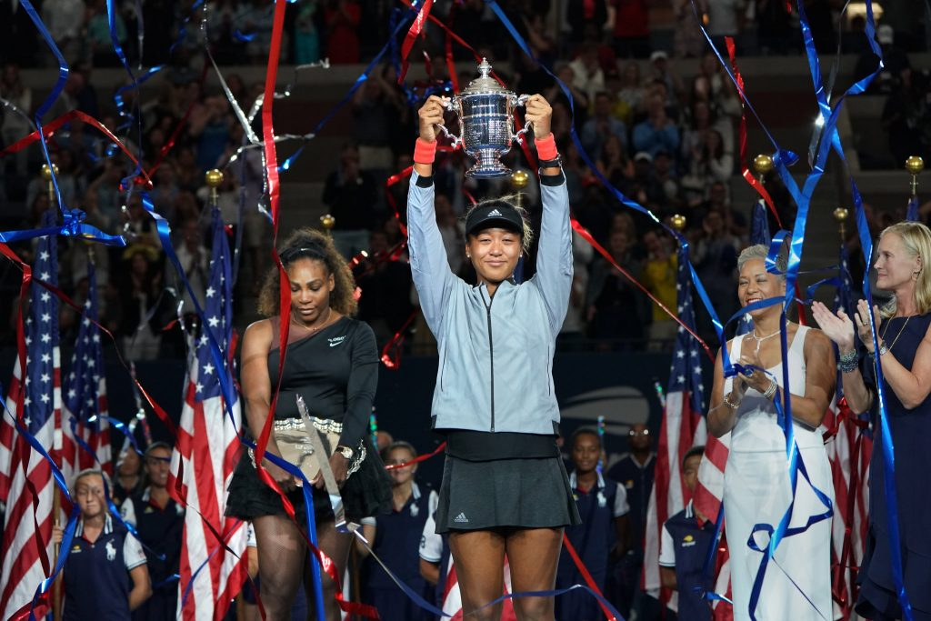 The centre court belongs to Naomi Osaka