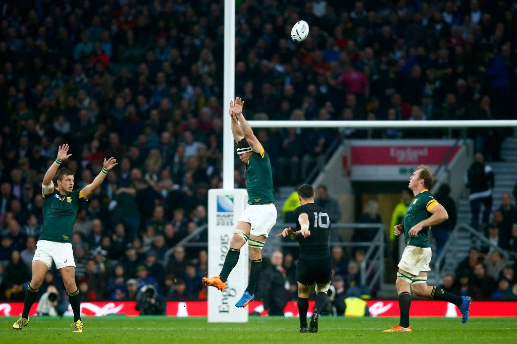 Carter's big five performances against the Springboks