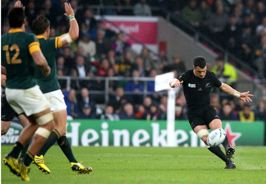 Dan Carter's deadly numbers against the Springboks