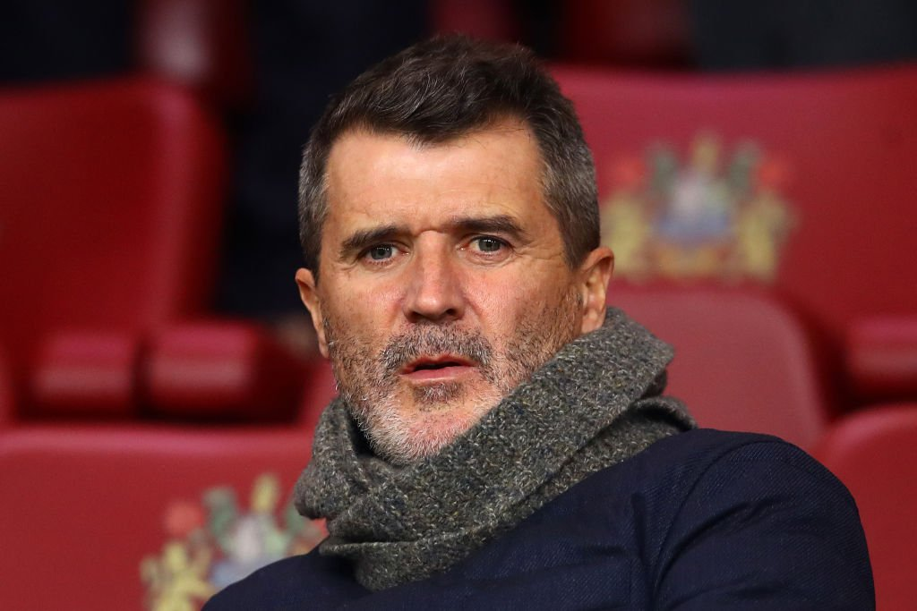 Roy Keane rocks