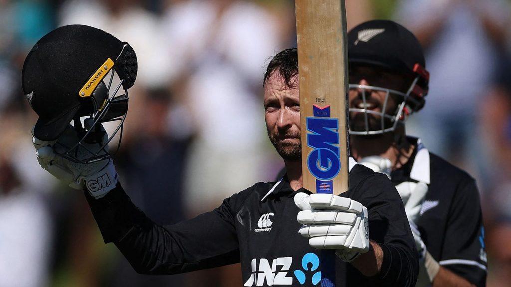 Devon Conway is commanding New Zealand cricket