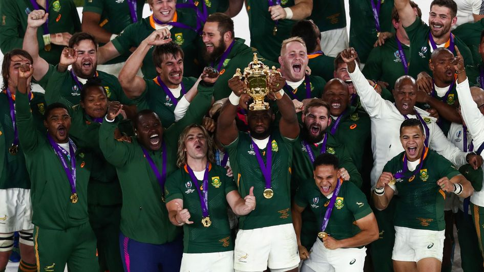 World Champion Springboks would make up half a World XV