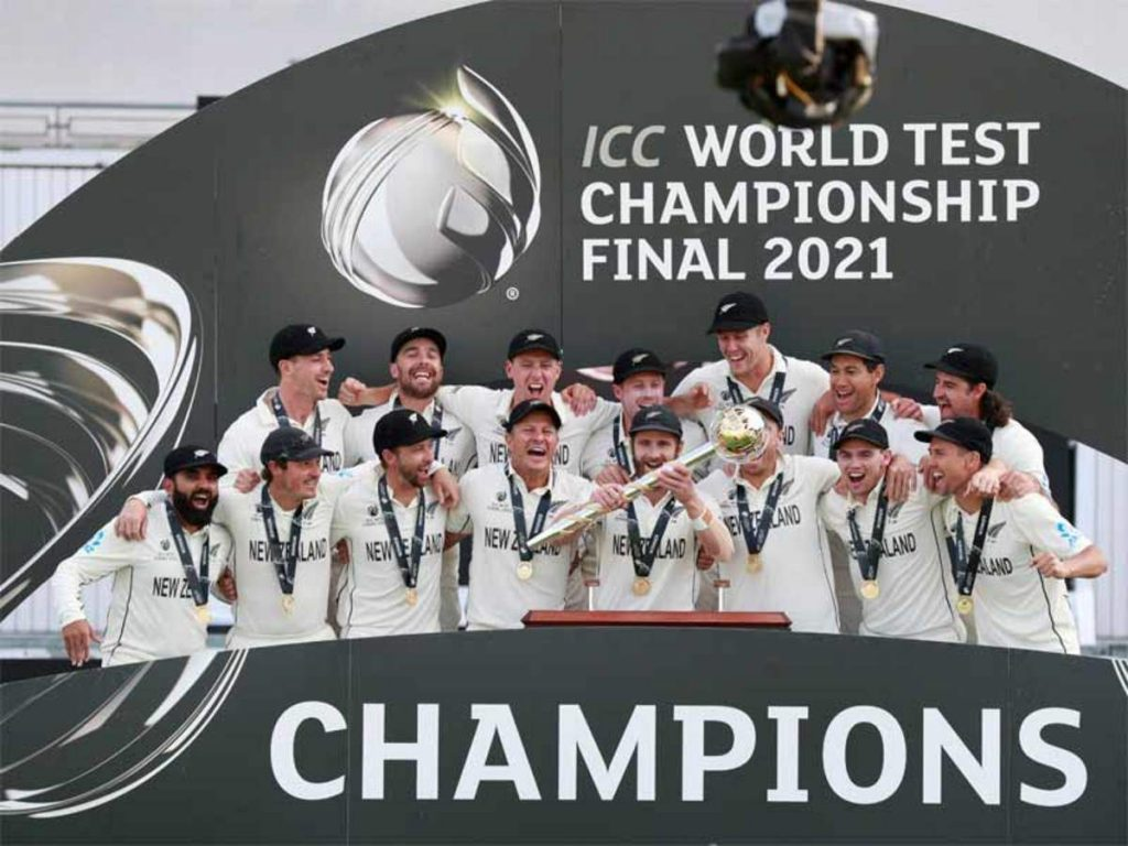 The Angel number '45' makes Black Caps Test World Championship win heavenly