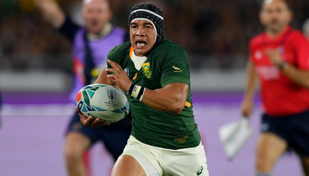 World champion Springboks are winners because of overseas-based players