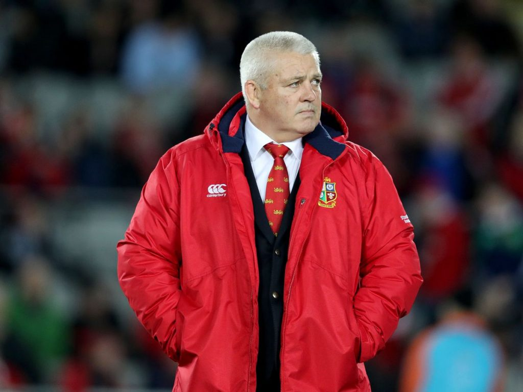 Gatland's coaching gives the British & Irish Lions challenge in SA substance