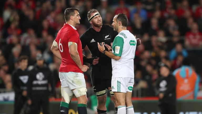 Poite's 2017 referee howler can't happen again in 2021 Lions series