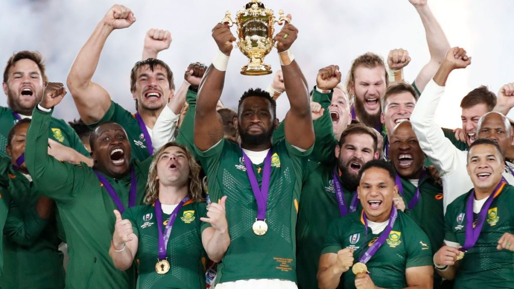 FYI: The Springboks who won the World Cup will be in Cape Town