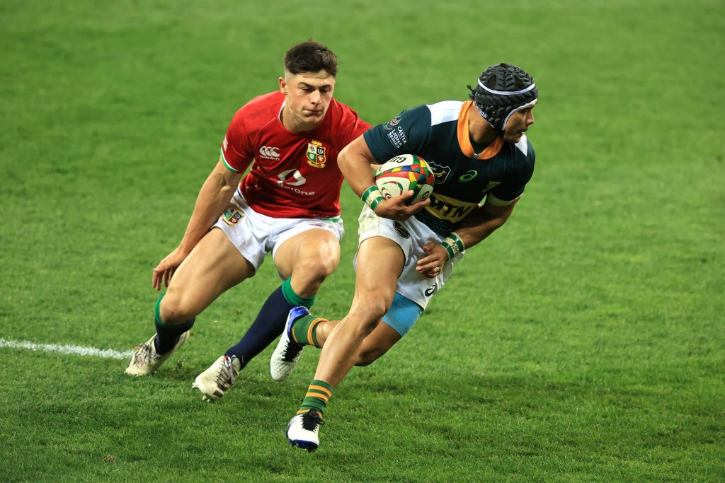Sir Clive reckons Kolbe's dancing feet will leave Duhan dazed
