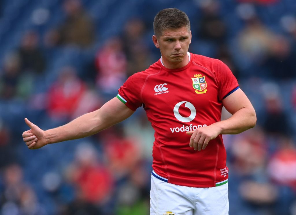 Farrell in a class of his own as Lions savage Sharks