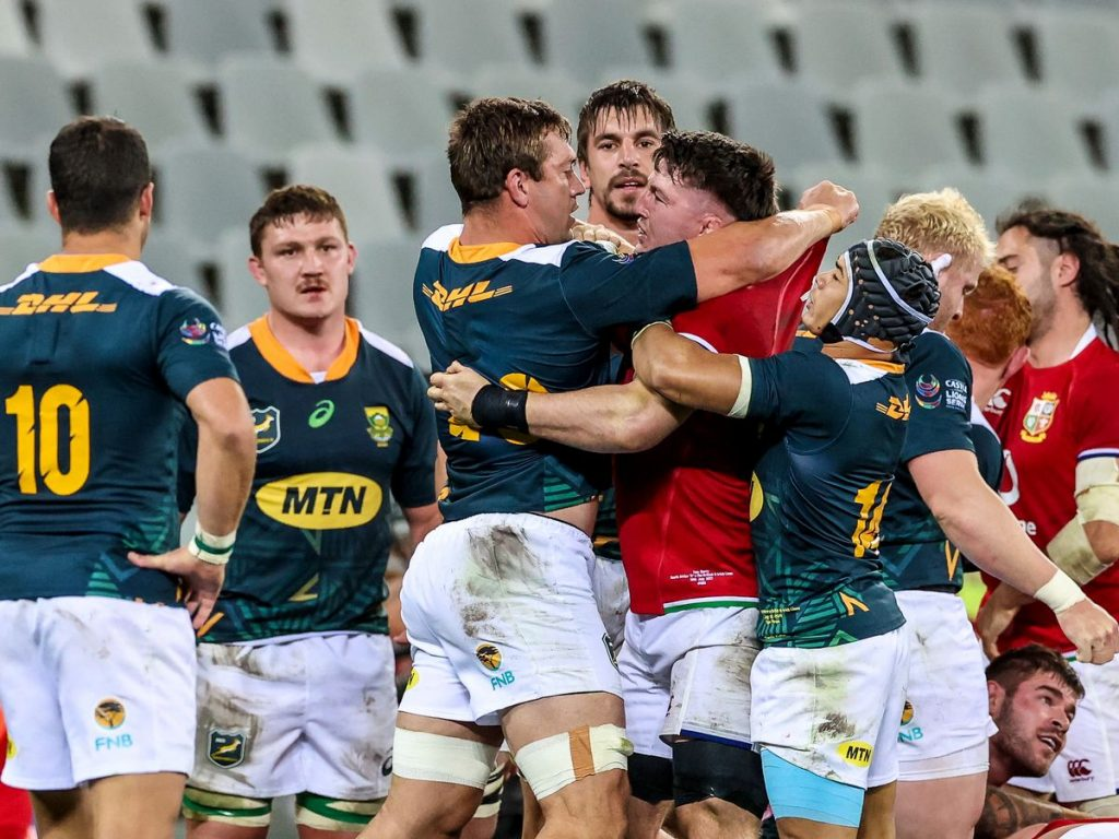 Keohane calls it for the Boks; Gibbs for the Lions