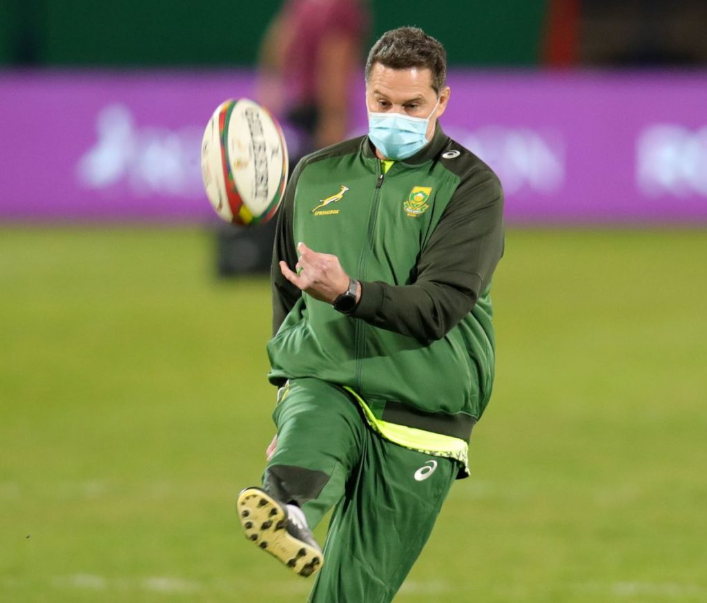 Rassie puts the boot into Gatland on Farrell foul play