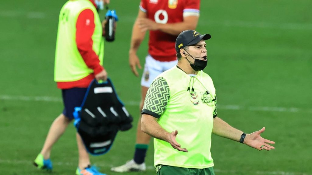 Keep on running the water Rassie, it's troubling the Lions