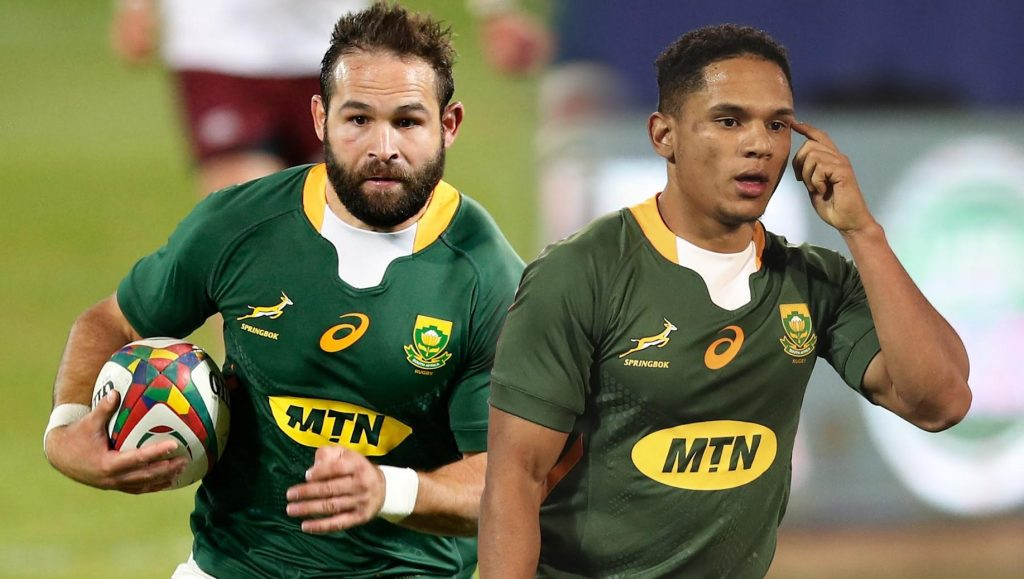 Jantjies and Reinach have an equal role to play in series decider