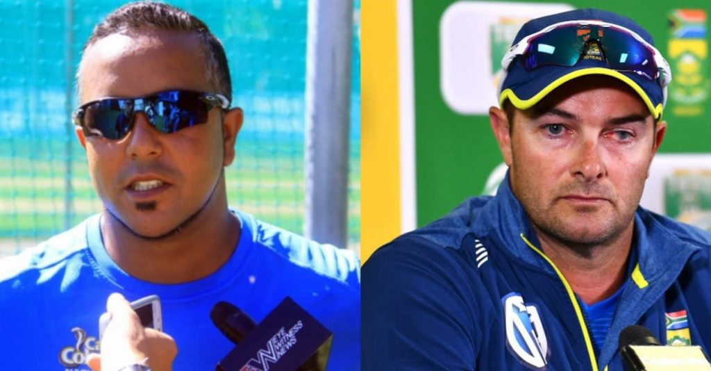 Boucher's silence on Adams is a problem for Proteas