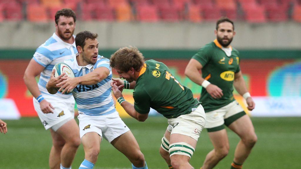Sloppy Springboks blow bonus point in pounding Pumas