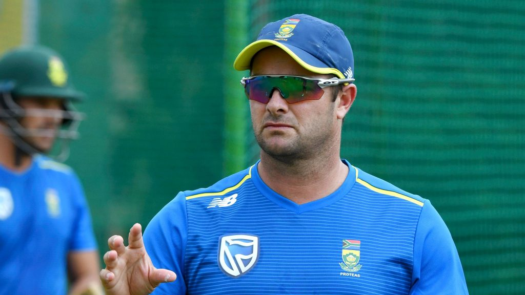Mark Boucher should resign or be sacked as Proteas coach