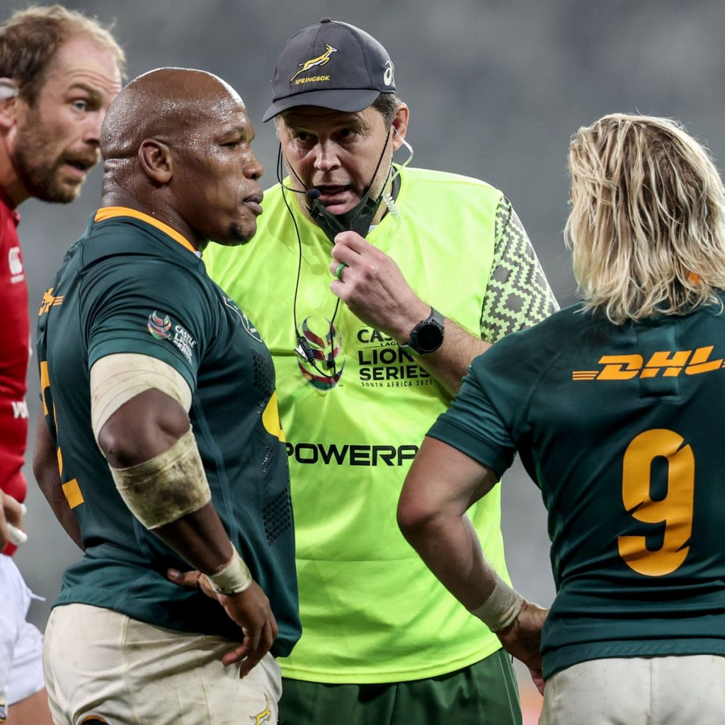 Rassie, never surrender, South Africa stands with you
