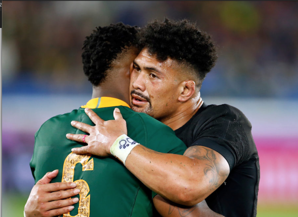 SA v NZL is a rugby rivalry that flourishes on player respect