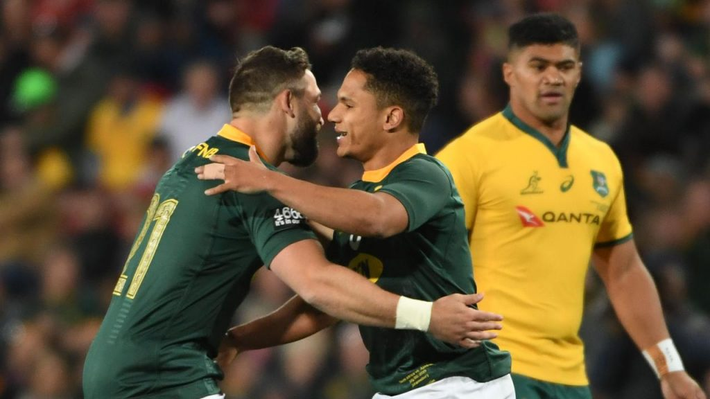 Reinach and Jantjies to revel up North